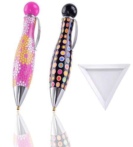 HomeCraftology 2pcs 5D Diamond Painting Drill Pen Tools