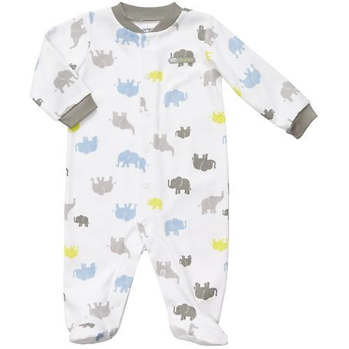 Carter's Easy Entry Sleep N Play - Elephant-3M