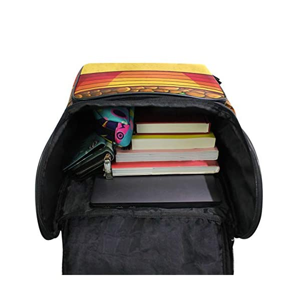 DXG1 Zaino Giallo Cactus Borsa Moda per Donne Uomini Ragazzo Ragazzo Bookbag Viaggio College Casual Zaino Prescolare… 4 spesavip