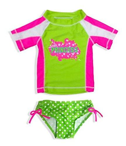552199f64b Jump N' Splash Little Girls Rashguard Swimsuit Set Size 2T-4T