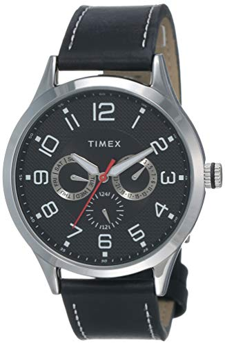 Timex Fashion Analog Black Dial Men #39;s Watch   TW000T305