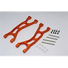 Traxxas X-Maxx 4X4 Upgrade Parts Aluminum Front / Rear Upper Arms - 1Pr Orange