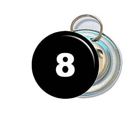 Compra Angora Abrebotellas de Bolsillo - Número 8 - Bola de Billar ...