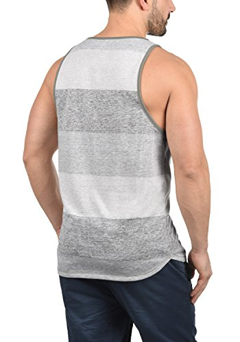 Charan T Light Encolure 100 Sans Rond Tank Grey Top solid shirt Homme Coton Manches Débardeur 2325 4RwqAxxdnT