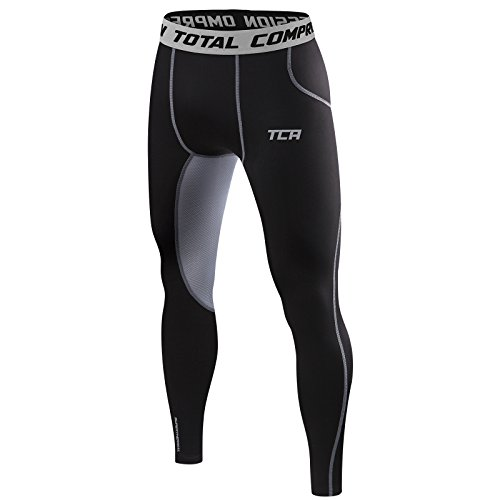 Men's Boys TCA SuperThermal Compression Base Layer Thermal Under Tights / Leggings