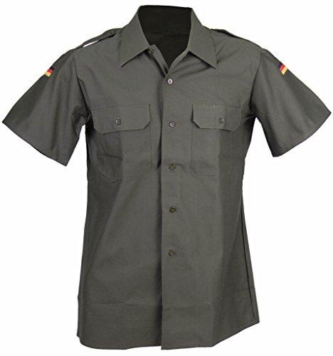 4 Import Qualité Manches Gris Gris 4 7 olive Courtes olive Allemande 41 42 Combat Chemise Couleur L'armée Securityhemd De Tailles En B6zA68wrqP