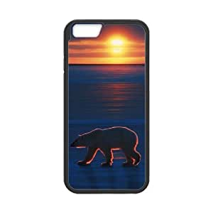 "FLYBAI Polar Bear Phone Case For iPhone 6 Plus (5.5"") [Pattern-2]"