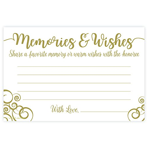 Flourish Share a Memory and Well Wishes Cards (50 Count)