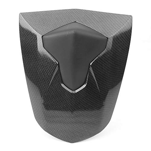 Newsmarts Motorcycle Pillion Rear Passenger Seat Cowl Cover for Daytona 675 675R 2013 2014 2015 2016 2017 2018,Carbon ()