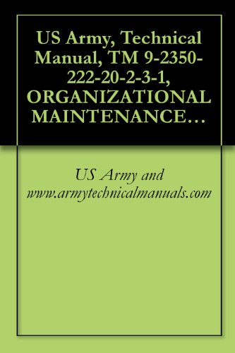 US Army, Technical Manual, TM 9-2350-222-20-2-3-1, ORGANIZATIONAL MAINTENANCE MANUAL VOLUME III - PART 1 MAINTENAN TURRET FOR COMBAT ENGINEER (Iii Turret)