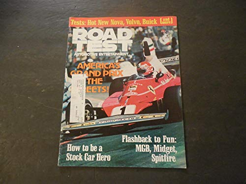 Jukebox Magazine (Road Test Jul 1976 How To Be A Stock Car Hero (Not A Jukebox Hero))