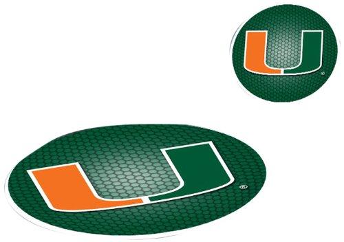 FANMATS NCAA University of Miami Hurricanes Plastic GetaGrip