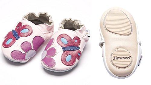 Jinwood designed by amsomo - Zapatillas de estar por casa para niña Multicolor - garden pink mini shoes