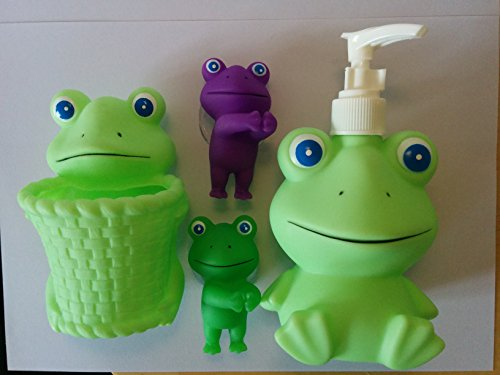 Kids Educational Bath Set (Frog - Gift Pack)