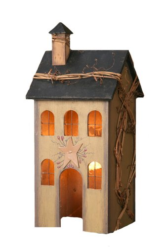 Your Heart's Delight Primitive Home Electric Light, 5 by 12 by 4-Inch, Medium, Tan by Your Heart's Delight