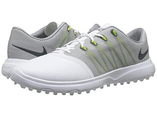 メキシコ対抗混合した(ナイキ) NIKE レディースゴルフシューズ?靴 Lunar Empress 2 White/Anthracite/Cool Grey 6 (23cm) D - Wide
