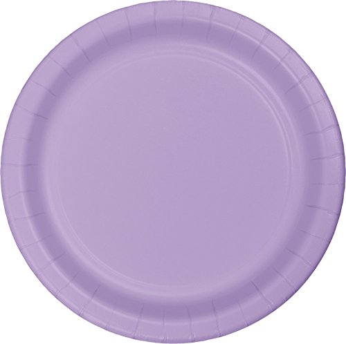 Creative Converting Plates Luscious Lavender