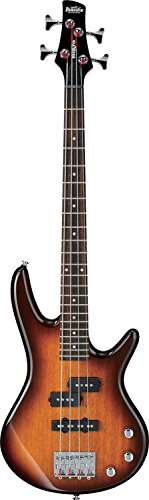 Ibanez 4 String Bass Guitar, Right, Brown Sunburst (GSRM20BS) by Ibanez