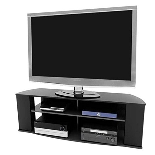 Black Large Tv Stand - 2