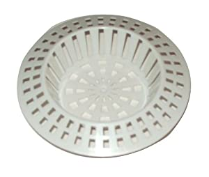 kitchen sink plastic 2 x white plastic sink strainer filter size small or large 2826