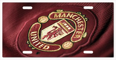 Manchester United True Champs Vanity License Plate