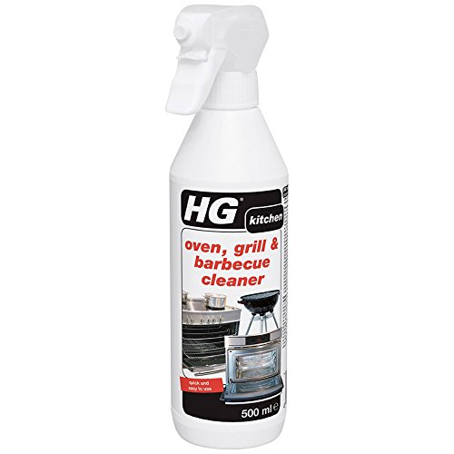 HG oven, grill & barbecue cleaner 500 ML - A quick and easy to use heavy...