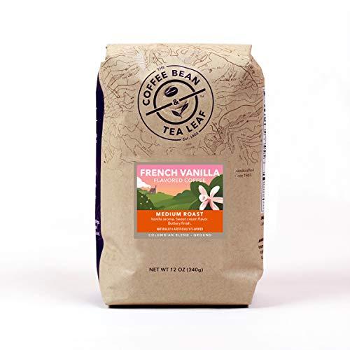 The Coffee Bean & Tea Leaf French Vanilla Ground Coffee Bag 12 oz