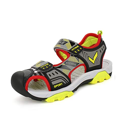 WETIKE Kids Sandals Summer Water Shoes Boys Outdoor Sneaker Sandals Sports Shoes Girls by WETIKE
