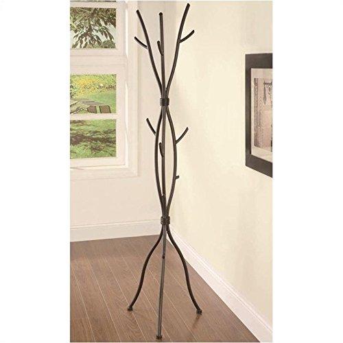 Coaster Home Furnishings Tree Branches Coat Rack, (Rustic Coat Tree)