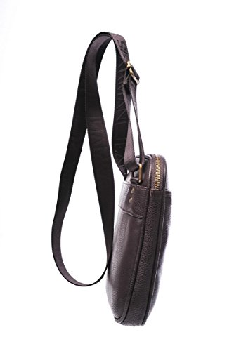Armani Jeans borsa uomo a tracolla borsello originale vintage marrone