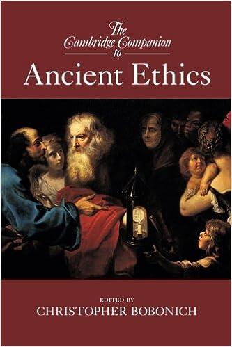 Bobonich Ancient Ethics cover art