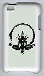 Alien Vetor Custom iPod 4 Case Cover Polycarbonate White