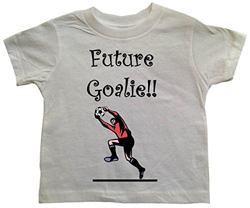 FUTURE GOALIE - Soccer Design - BigBoyMusic Toddler T-shirt - size Small (2T) Inter Milan Football Shirts