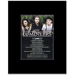 LUMINEERS - UK Tour 2013 Mini Poster - 13.5x10cm
