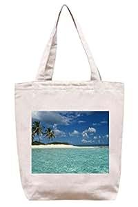 Playa del Caribe–lona de algodón Tote Bag