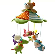 SHILOH Musical Mobile for Newborn Crib Toy Baby Room Decoration, Happy Teddy Bear