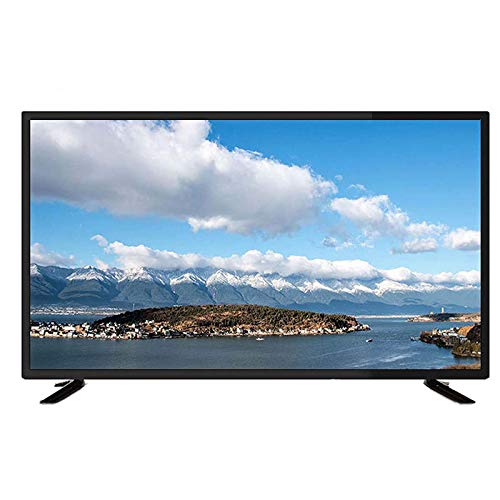 hanzeni 43inch Smart Flat-Screen TV,High-Definition Network LCD Television Stereo Sound,HD 4K Screen Televisore,3D Image Motion Noise Reduction