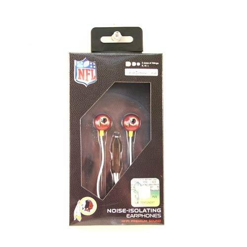 NFL Washington Redskins iHip Ear Buds with (Ipod Redskin)