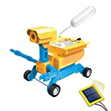 Tenergy Odev Geo STEM Toy DIY 2-in-1 Solar Powered Robot Salt Water Car Kit Educational Toys for Kids Age 8+