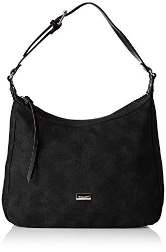 David Jones Women's Cm3752 Shoulder Bag Black (Black Cm3752)