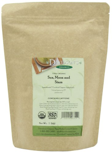 Davidson's Tea Bulk, Sun, Moon And Stars, 16-Ounce Bag (Best Tea For Sun Tea)