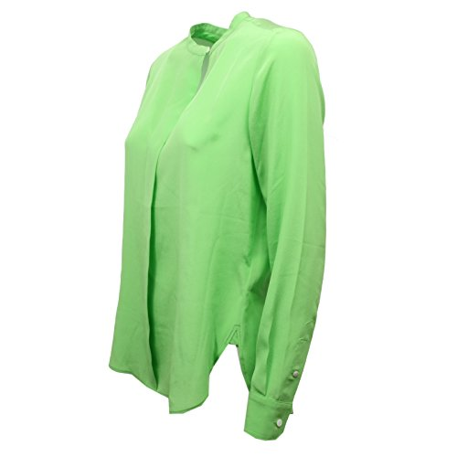 Lauren Verde Shirt Woman C8544 Donna Clarissa Seta Ralph Camicia Silk q7Y7wtO