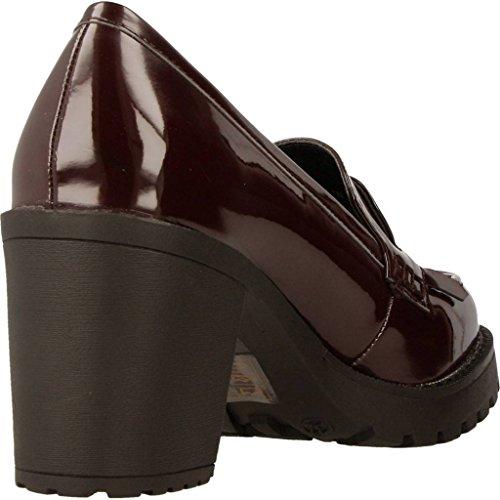 Para Mujer Burgundi Mtng Zapatos Tacón De Tina PHWcAqaF4I