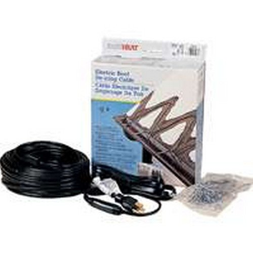Easy Heat ADKS-100 20' 100 Watt Electric Roof De Icing Cable by Easy Heat