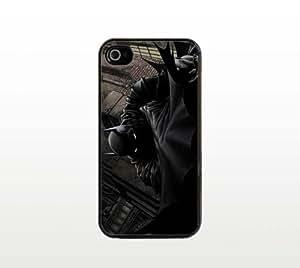 Batman iPhone 4 4s Case - Cool Black Plastic Snap-On Cover - Comic Superhero Design