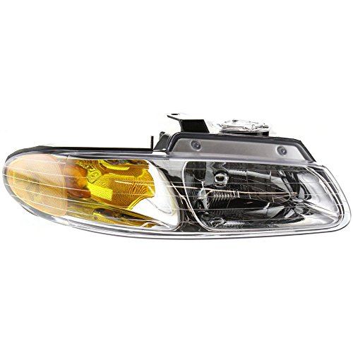 Grand Caravan Town & Country Voyager 96-99 Non Quad Head Light 4857041AB Right Side