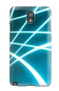 Awesome GPBOYQU1359UpPdl DeirdreAmaya Defender Tpu Hard Case Cover For Galaxy Note 3- Glowing Curves