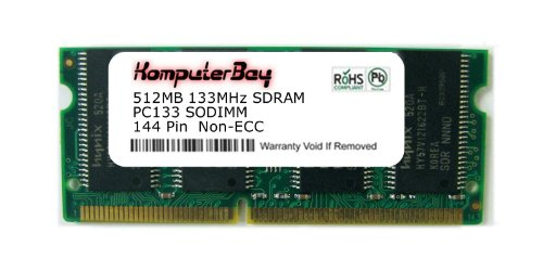 Komputerbay 512MB SDRAM SODIMM (144 Pin) LD 133Mhz PC133 FOR Apple Mac Memory iBook 700MHz 12\ (M8860LL/A) 153