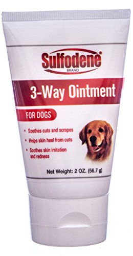 (Farnam Sulfodene 3-Way Ointment for Dogs Prevent Infection Pain Relief Aids 2 oz)
