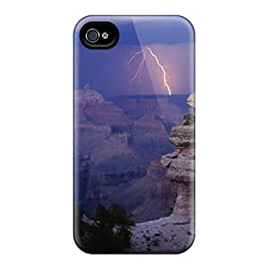Hxv42123YJMJ Faddish Lightning At The Gr Canyon Cases Covers For Iphone 6